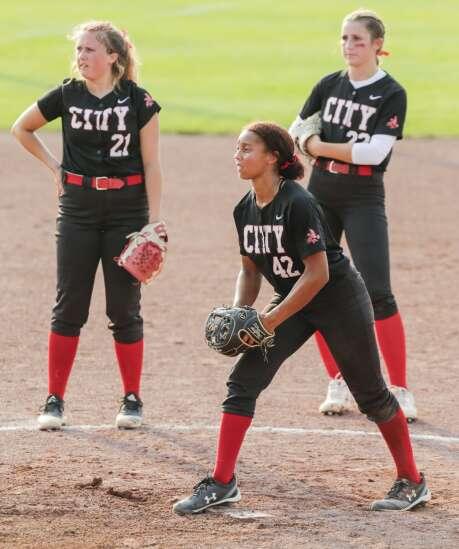 Photos: Iowa City High vs. Ankeny Centennial, Class 5A Iowa high school state softball quarterfinals