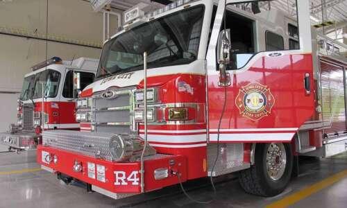 Fire extinguished on University of Iowa campus