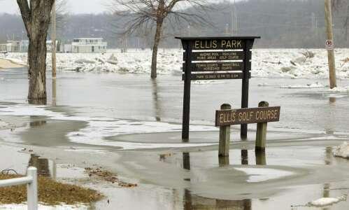 Flood watch for Eastern Iowa as melting snow meets rain…