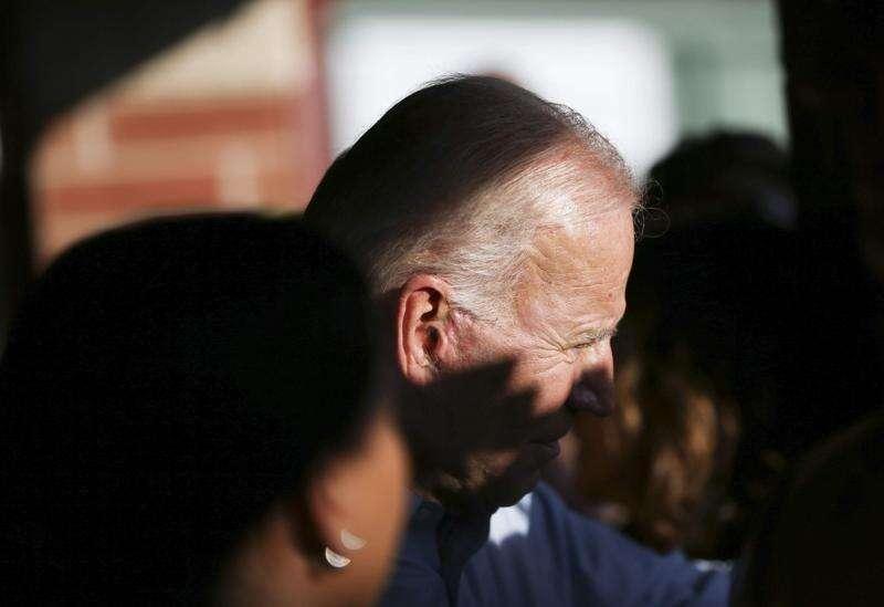 Photos: Joe Biden opens campaign office in Iowa City