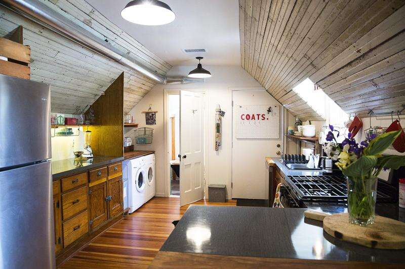 The heart house in NewBo gets face-lift, new future as Airbnb rental and salvage shop