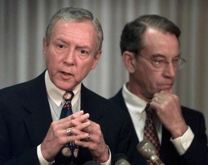 Chuck Grassley was right in 1999