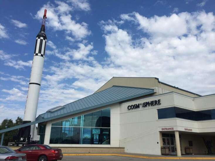 Cosmosphere in Hutchinson, Kansas is one of the world's top space museums