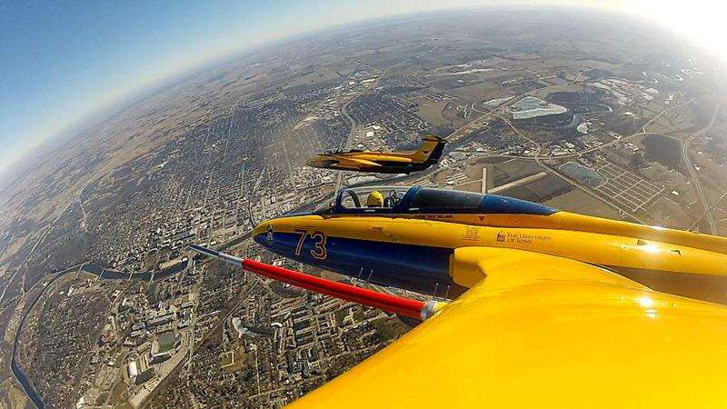 Air Combat over Eastern Iowa