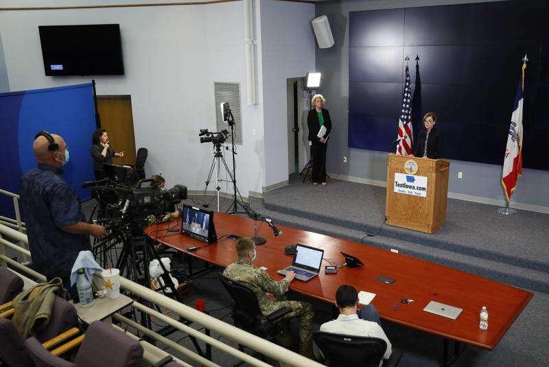 University of Iowa researchers project hundreds more coronavirus deaths