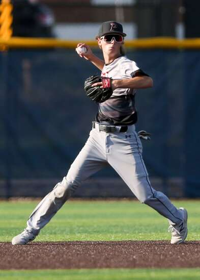 It's all in a name: Cedar Rapids Prairie's Bronx Lewis, Maddux Frese come from strong baseball lineage