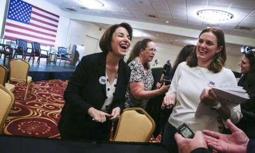 Amy Klobuchar looking ahead to Democratic debate, caucus success