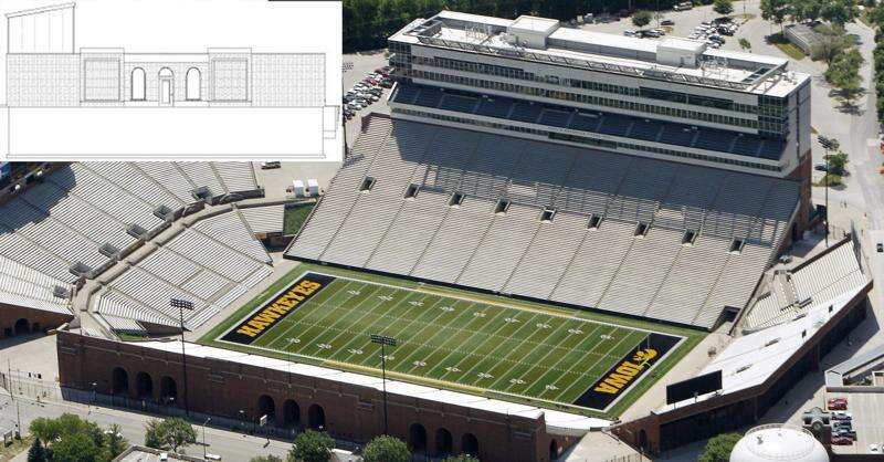 Stop work order issued for Kinnick Stadium-style house in Iowa City