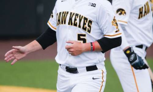 Likely out of NCAA tournament, Iowa baseball plays final series