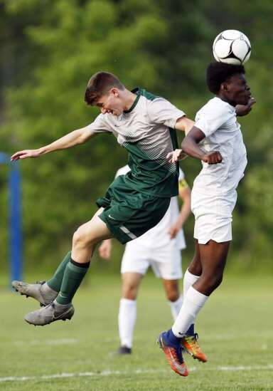 Boys 3A soccer quarterfinals - IC West vs Ankeny