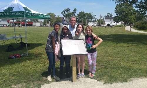 Cedar River Academy students write book, create story walk