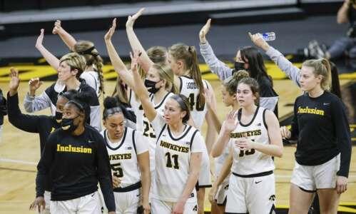 Photos: Iowa women's basketball vs. Minnesota