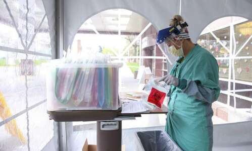 Iowa passes 26,000 positive coronavirus cases as testing numbers dip