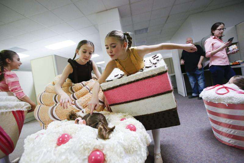 """""""Whipped Cream"""" ballet making dreams come true at Hancher"""