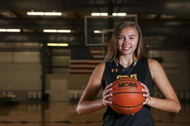 Adrianna Katcher of Center Point-Urbana is the 2020 Gazette Female Athlete of the Year