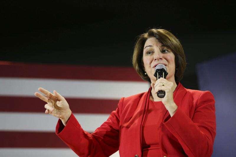 Capitol Ideas: Sensing a surge, Amy Klobuchar pursues success with Iowa moderates