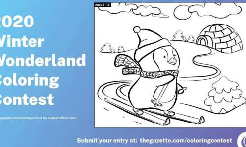 Holiday Coloring Contest