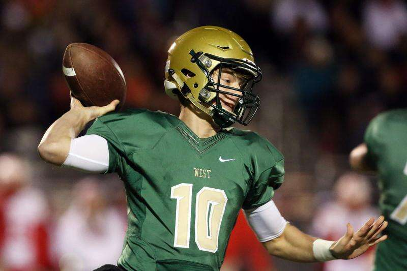 Evan Flitz of Iowa City West is The Gazette's 2017 football player of the year