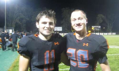 Tyler Wessels, Caleb Kehrli combine for 6 TDs as West…