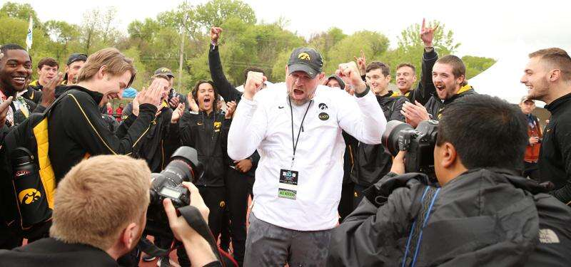 'Business as usual' as Iowa heads into Big Ten track championships