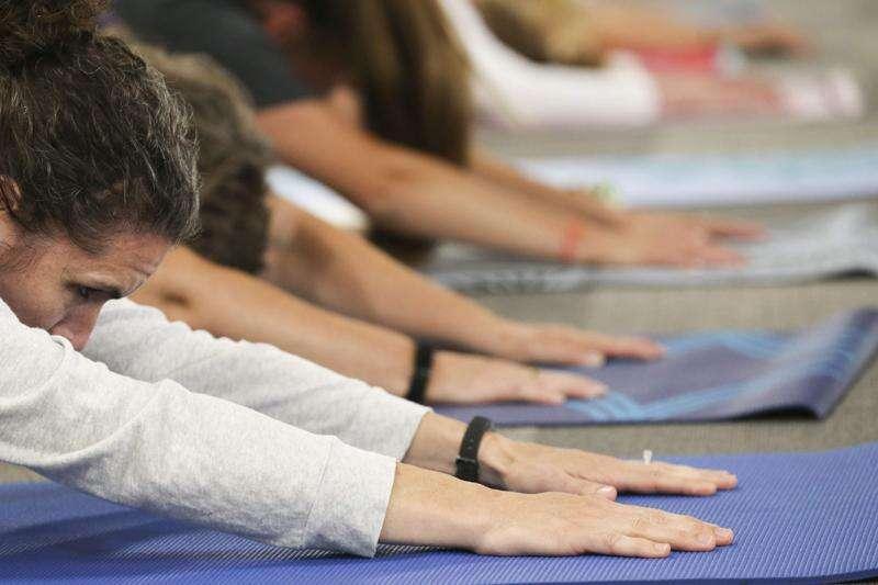 Eastern Iowa teachers turn to yoga for kids with trauma and anxiety