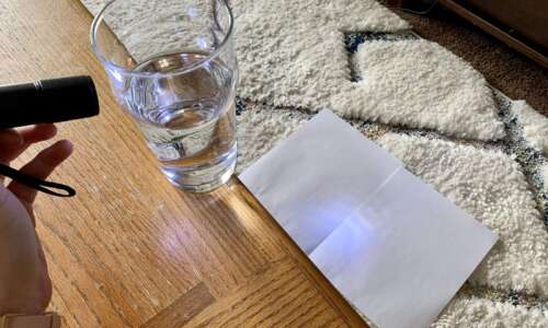 How to bend light by creating a prism with a…