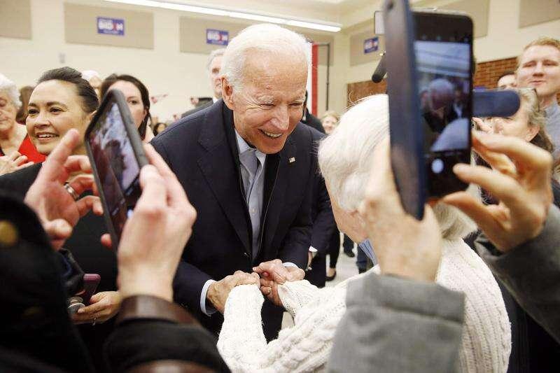 Joe Biden pushes public option as affordable, practical health care in Iowa visit