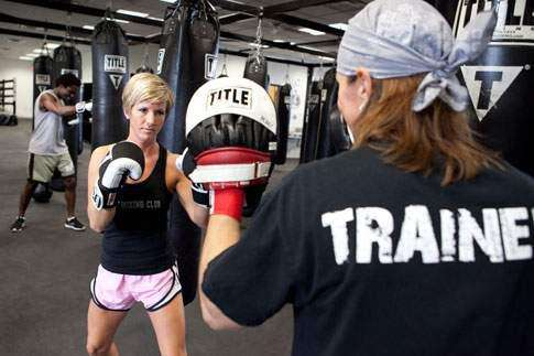 Fitness-oriented boxing gym Title Boxing Club opens in Cedar Rapids