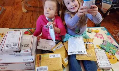 5-year-old's idea to rock her sister's world goes viral, bringing…
