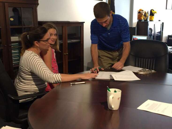Personal experience drives Amy Adams to help amplify Iowans' voices