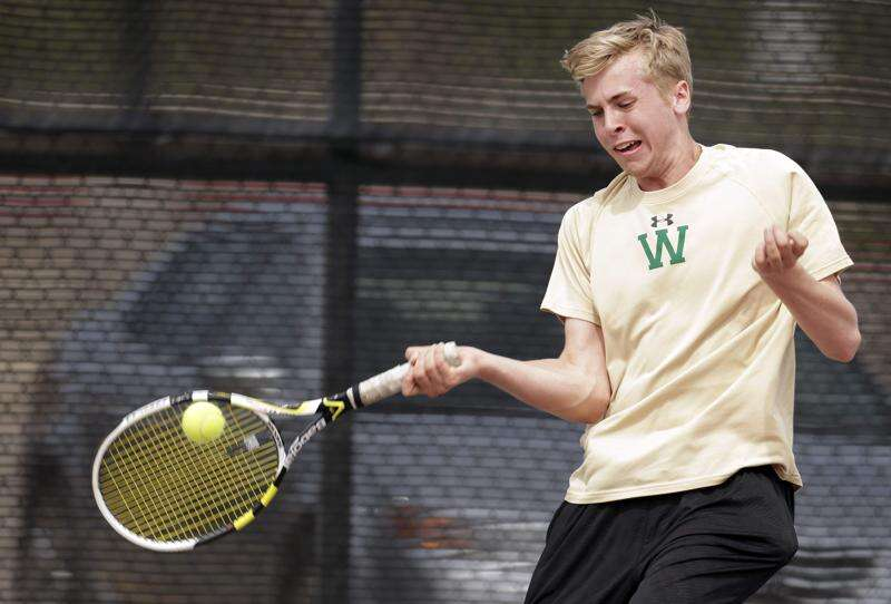 West tennis wins history-making third straight team title