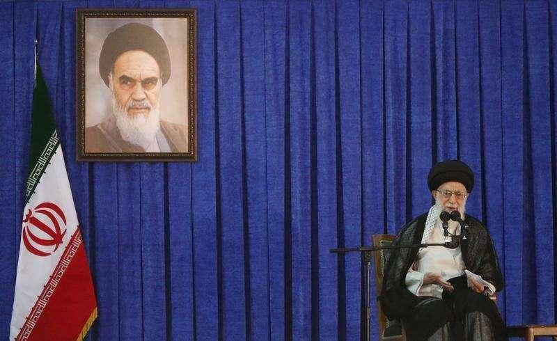 Iran's Khamenei blames U.S. for regional instability, creation of Islamic State