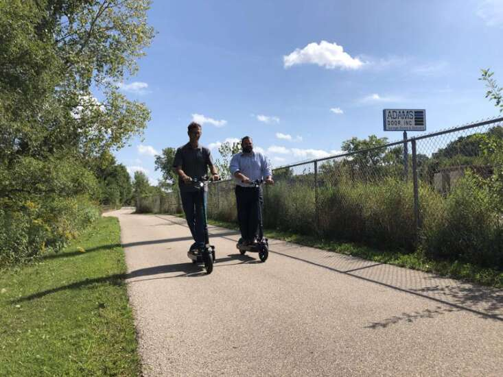 Scooters are a step toward a more connected Cedar Rapids