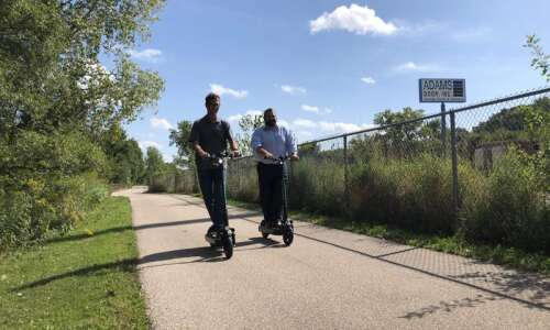 Scooters help create a more connected Cedar Rapids