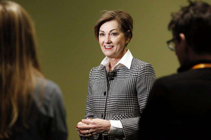 Reynolds: Plan for tomorrow, invest in Iowa