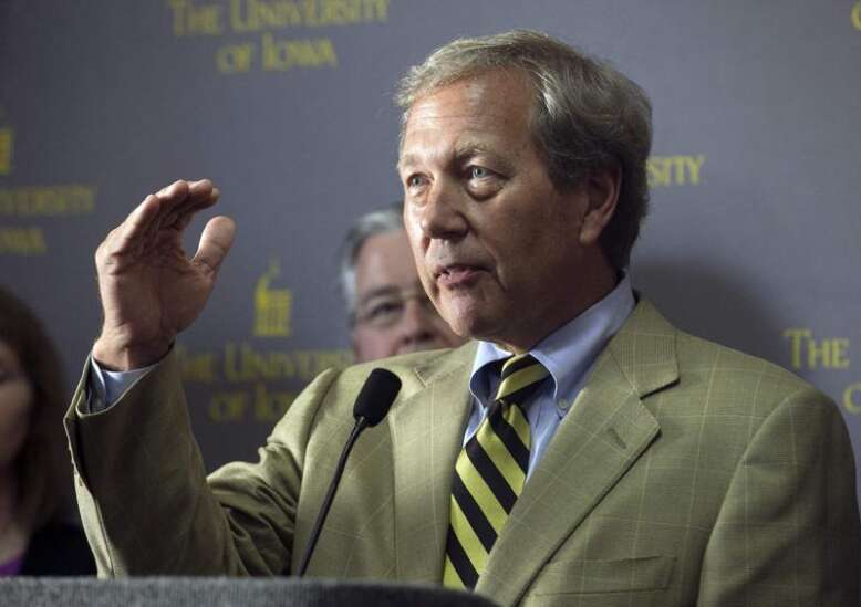 New University of Iowa president 'will not seek tenure'