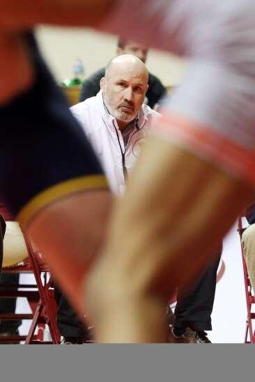 Former Iowa wrestling champion Jim Heffernan calls it a career