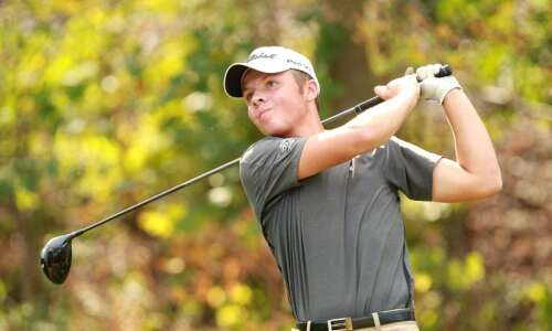Linn-Mar captures third straight MVC boys' golf divisional crown