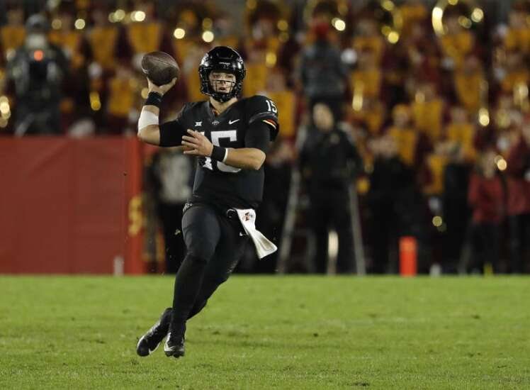 Iowa State football notes: Pump fake makes Brock Purdy even more dangerous