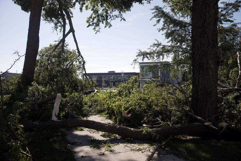 Cedar Rapids loses half its tree canopy in derecho