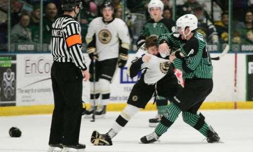 Photos: Cedar Rapids RoughRiders vs. Muskegon Lumberjacks, USHL hockey
