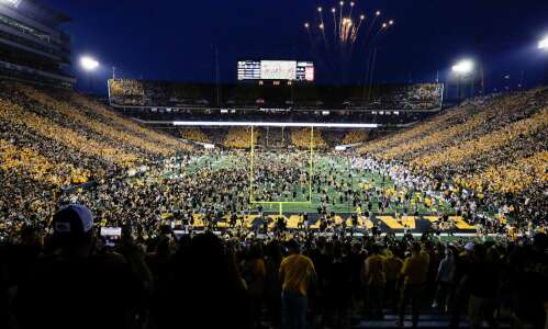 Hawkeyes embrace field-rushing experience, for now