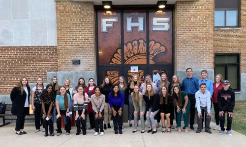 Fairfield High School FBLA attends Fall Leadership Conference