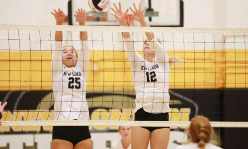 New London No. 10 in IGHSAU's volleyball rankings