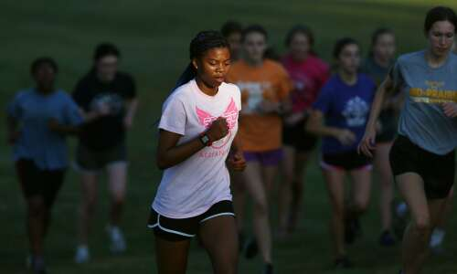 Mid-Prairie could join an elite group in girls' cross country