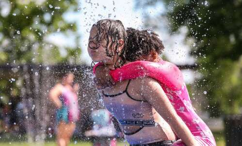 Photos: Splash pads open in time for summer heat