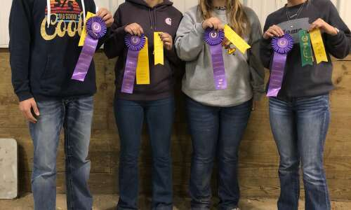 WACO FFA Chapter competes at Kirkwood Community College