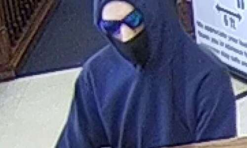 Police searching for suspect who robbed Walford bank