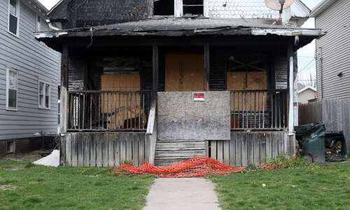 Wellington Heights home gutted in 2017 fire finally coming down