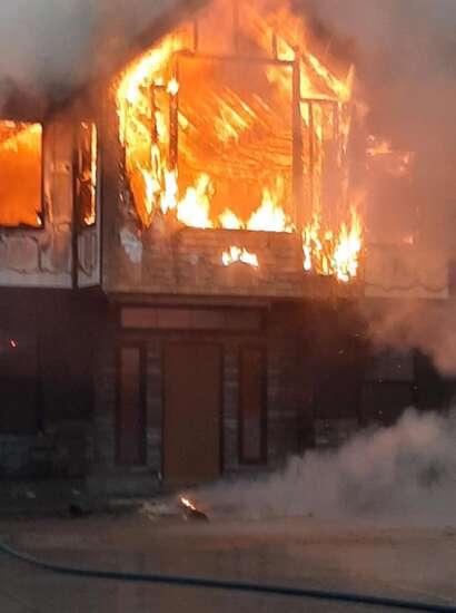 Fire destroys Milton Locker